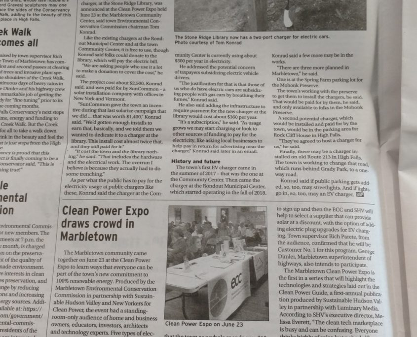 Bluestone Press: Clean Power Expo