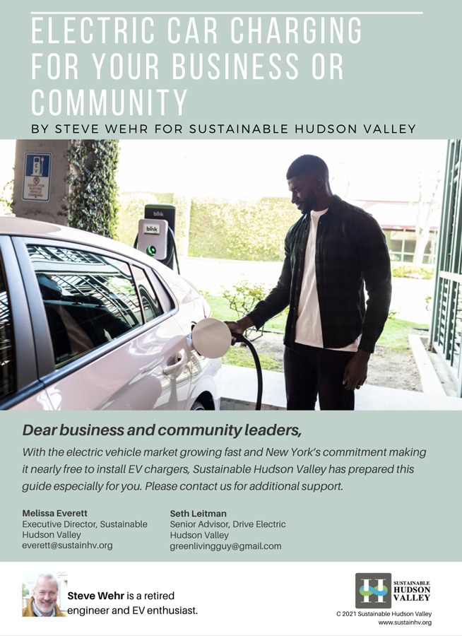 Electric Car Charging for Your Business or Community
