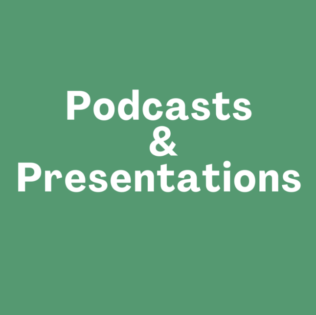Refrigerant Podcasts & Presentations
